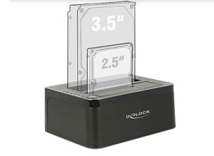 Delock Dual Docking Station USB 3.0