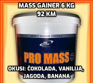 Mass gainer 6 KG