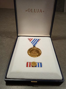 """Medalja """"Oluja"""""""