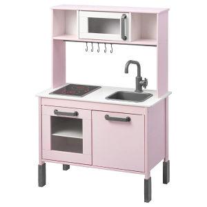 Ikea djecija kuhinja roza