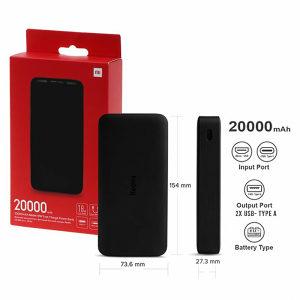 Power bank powerbank 20000 MAH Xiaomi Redmi Mi 18W