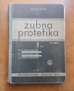 Knjiga ZUBNA PROTETIKA I..1956 godina