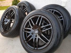 """Alu felge RS Audi16"""" 5X112 Sa gumama 205/55"""
