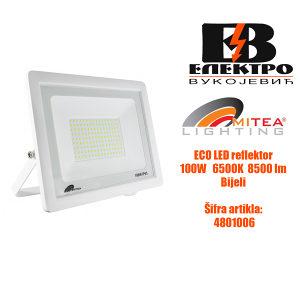 Eco LED reflektor 100W 6500K 8500lm Bijela  Mitea