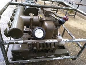 Benzinski kompresor (vakuum pumpa) za duvanje