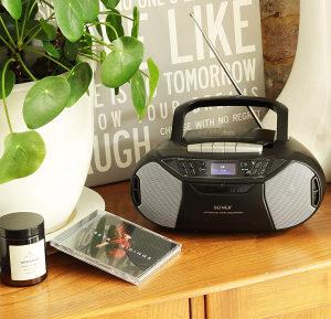 Denver prijenosni dab fm radio sa usb aux cd