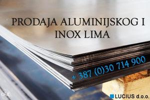 PROKROM INOX ALUMINIJSKI LIM LIMOVI NOVO