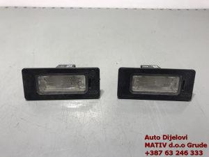 Svjetlo osvjetljenje tablice Audi A5 2009 8T0943021
