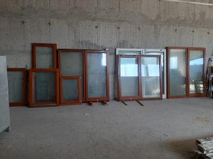 Vrata Klizna dupla drvena za terase balkon