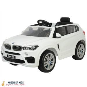 Auto na akumulator BMW X5 dzip djeciji 12V bijeli