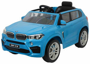 Auto na akumulator BMW X5 dzip djeciji 12V plavi