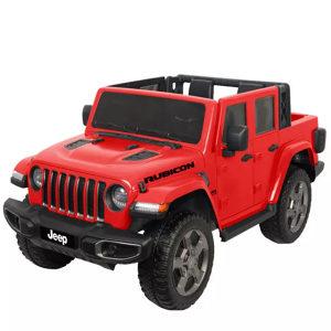 Auto na akumulator dzip Jeep djeciji 12V crveni