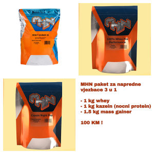Proteinski paket za napredne vježbače