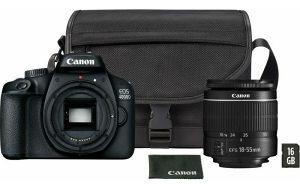 Fotoaparat CANON EOS4000D   18-55 SB130 16GB