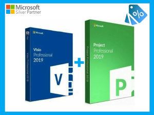 🥇BUNDLE Microsoft Project Visio Licenca Ključ ORIGINAL