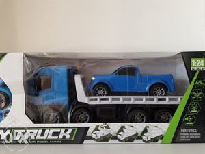 Kamion šleper prikolica set 2u1 autić, đip, igračke