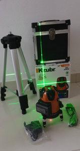 Laser za nivelaciju KZUBR sa AKU BATERIJOM