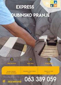 Dubinsko pranje namjestaja i auta 063 389 059