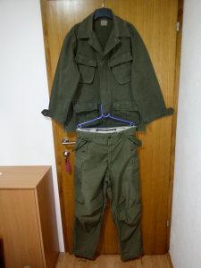 US Army vojna uniforma, M65 hlače, vojna bluza