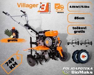 Freza Motorni kultivator Villager VTB 842 P