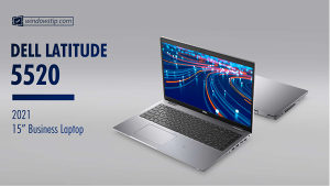 "Dell Latitude 5520 15.6"" i7 1185G7 16GB DDR4 512GB SSD"