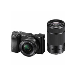 Sony Alpha a6100 with 16-50mm   55-210mm Lens