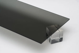 """Pleksiglas - """"Dim siva"""" - 3 mm"""