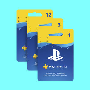 Playstation Plus Psn PS PLUS WALLET GIFT CARD PS4 4