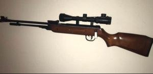 Vazdusna puska 5,5mm kandar. Novo