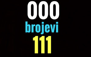 Ultra broj Bh Telecom 000 i 111 brojevi