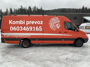 Kombi prevoz od 20km do 30km 0603469165
