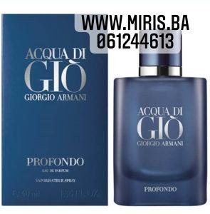 Armani Acqua Di Gio Profondo TESTER edp 75ml