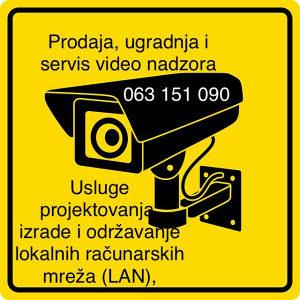 Elektricar Video nadzor ugradnja Info 063151090