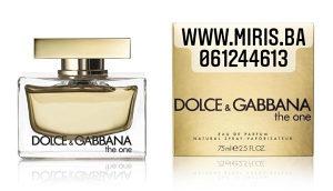 Dolce & Gabbana The One 75 ml edp 100 KM
