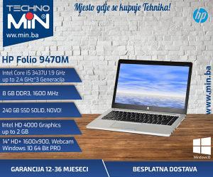 HP Folio 9470M, i5 3437U 1.9/8/240SSD/WEBCAM