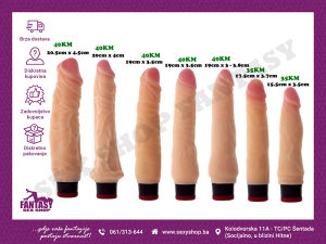"Vibratori ""RealStuff"" #vibrator   SEX SHOP FANTASY"