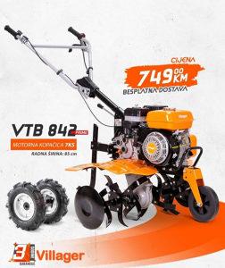 FREZA VILLAGER KOPACICA 7 KS VTB 842 PRIME FREZE