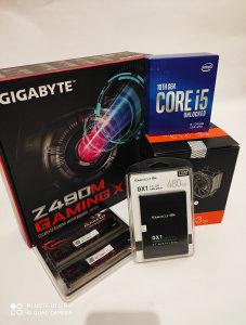 i5 10400F 4.3 LGA-1200 + B460M-A PRO + DDR4 8GB/AKCIJA