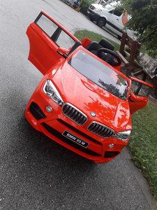 Auto na baterije, Bmw X5 crveni, igračke  KIDSHOP