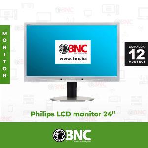 "Monitor Philips 241B4L LCD 24"" GARANCIJA 12 Mjeseci"