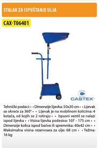 STALAK ZA ISPUŠTANJE ULJA T06401 CASTEX