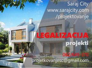 Projekti za legalizaciju objekata