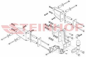 STEINHOF KUKA KUKE MERCEDES ML (W163) 02.98-06.05