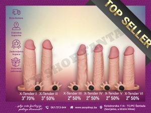 Realistične Navlake za Penis #Navlaka |Sex Shop Fantasy