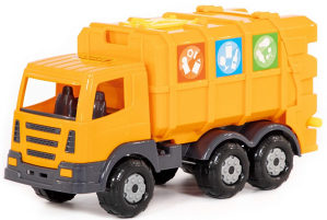 Kamion komunalni i kontenjer, Polesie toys, igracke