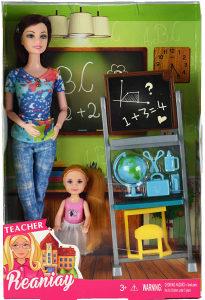 Barbika set sa tablom i djevojcicom, igracka, igracke