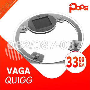 Vaga za mjerenje tjelesne težine, Quigg do 180kg