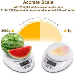 Digitalna kuhinjska vaga od 1g-5kg uvoz Njemačka