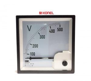 Voltmetar analogni 500VAC, 96x96mm