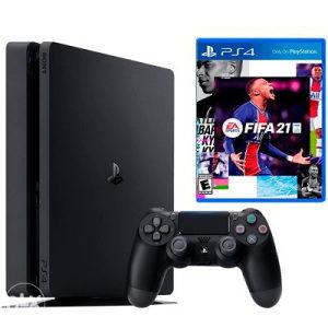PLAY STATION 4 500GB BLACK FIFA21